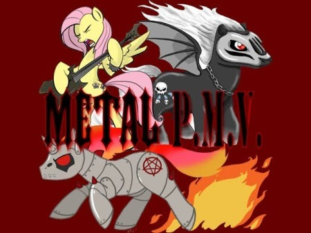 Heavy Metal Ponies